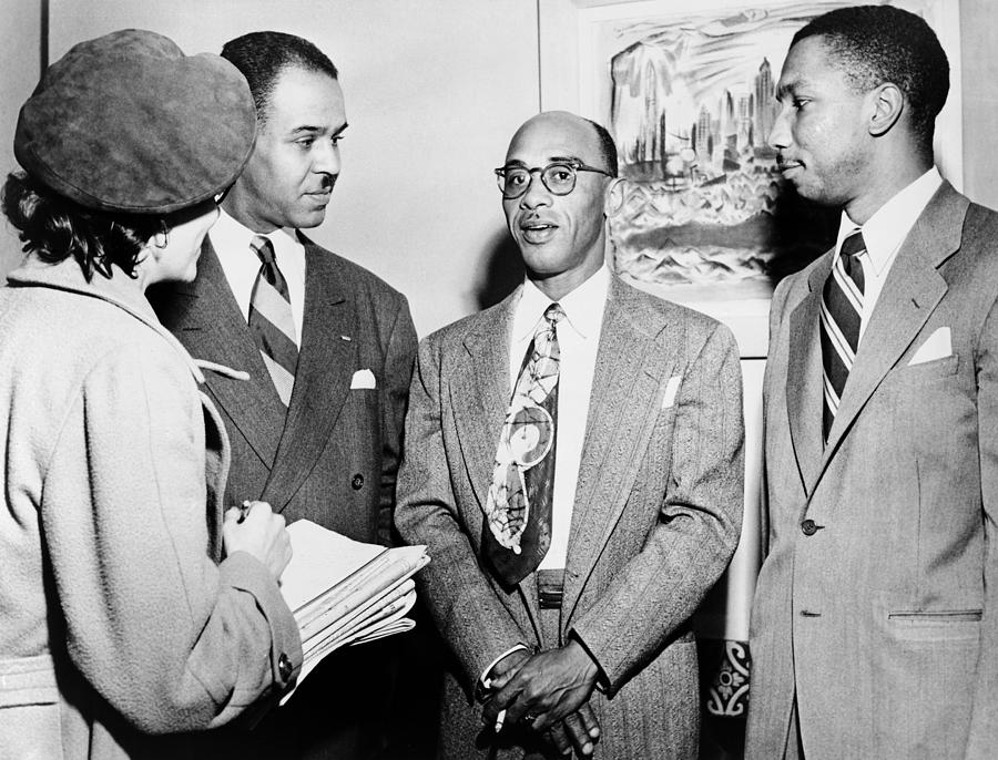 1950 Photograph - Civil Rights Activists by Granger
