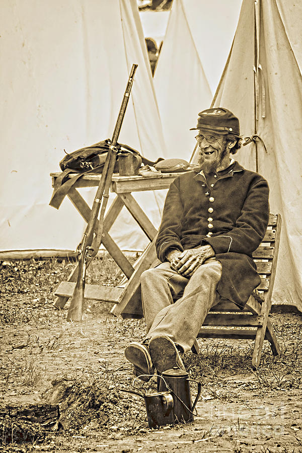 Civil Photograph - Civil War 1 by Roger Bailey