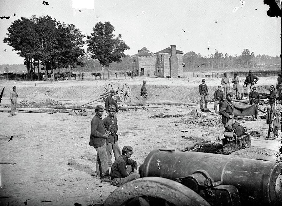 Civil War Field Howitzer by Granger