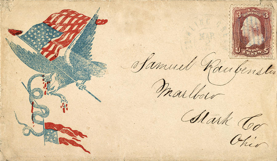 Civil War Letter 1 Photograph