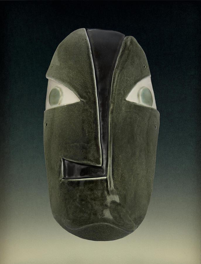 Mask Sculpture - Cladophora #0008 by Diana Lee