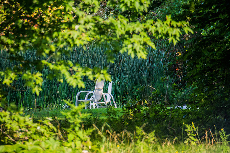 Chair Photograph - Clandestine Chair by Jason Brow