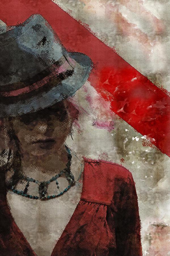 Grunge Digital Art - Clandestine by Galen Valle
