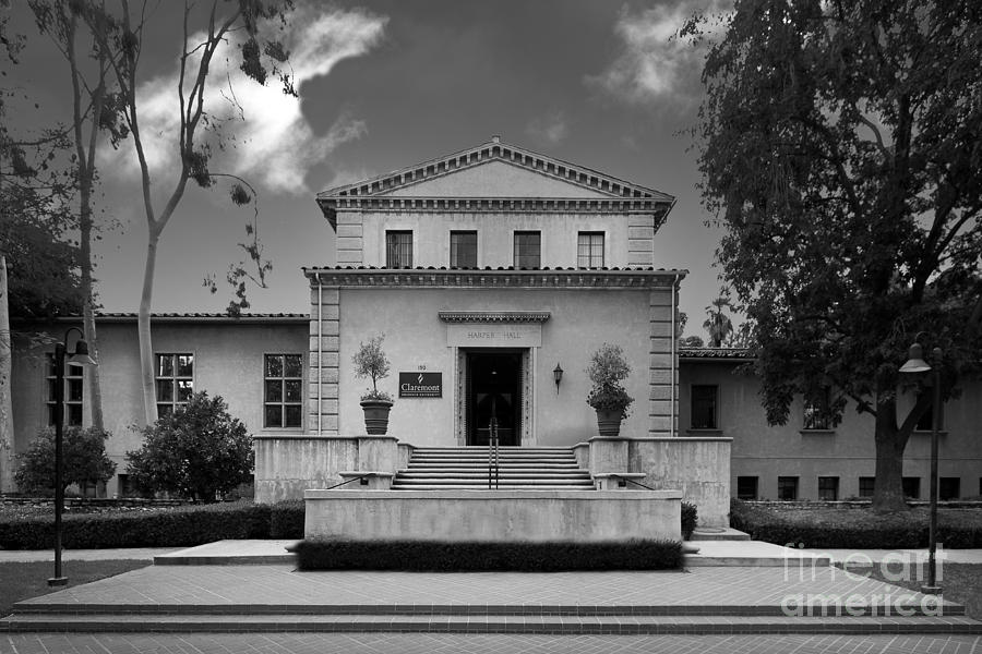 Cgu Photograph - Claremont Graduate University Harper Hall by University Icons