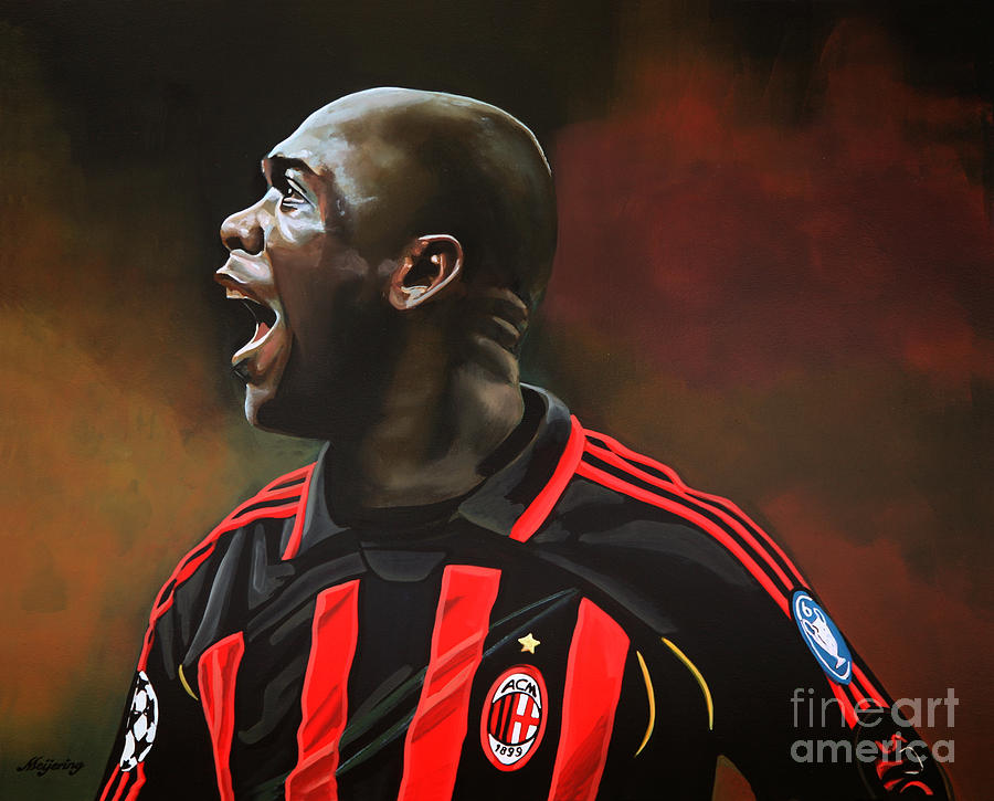 Clarence Seedorf Painting - Clarence Seedorf by Paul Meijering