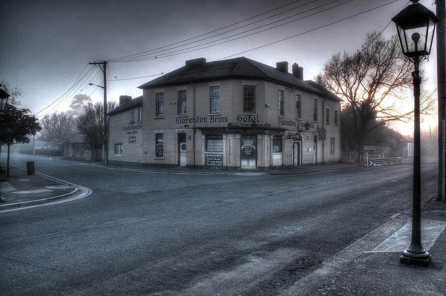 Tasmania Photograph - Clarendon Arms Hotel Tasmania by Ian  Ramsay
