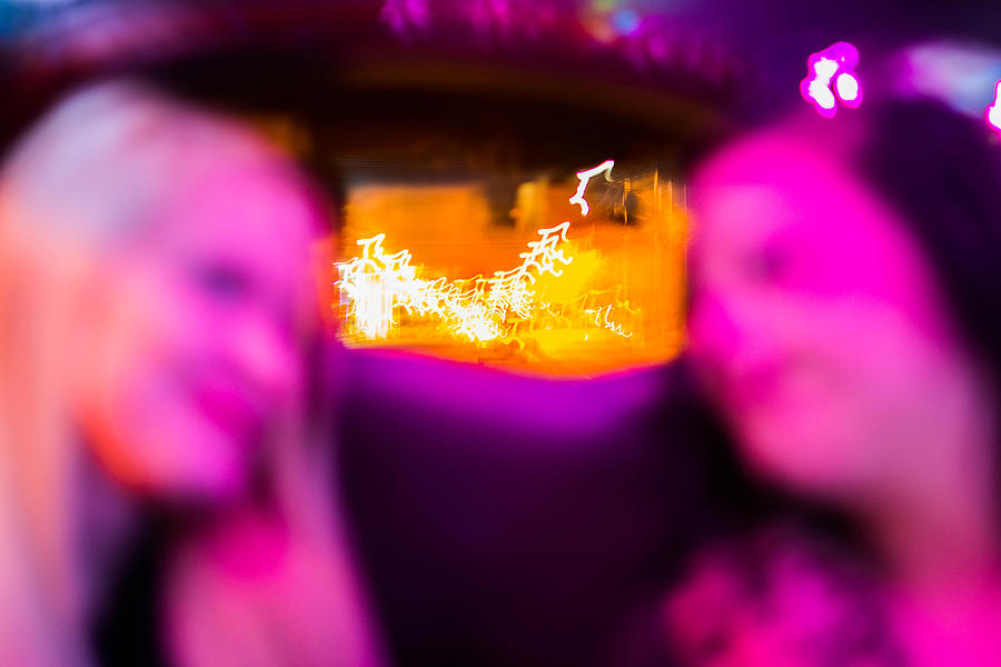 Oklahoma Photograph - Clarie And Giggles In The Limo by Nathan Hillis