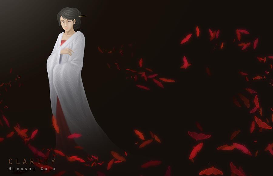 Hiroshi Painting - Clarity Ver.b by Hiroshi Shih