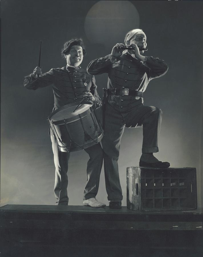 Clark And Mccullough In Strike Up The Band Photograph by Edward Steichen