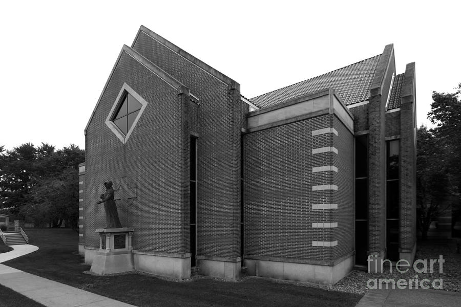 Clark Photograph - Clarke University Sacred Heart Chapel by University Icons