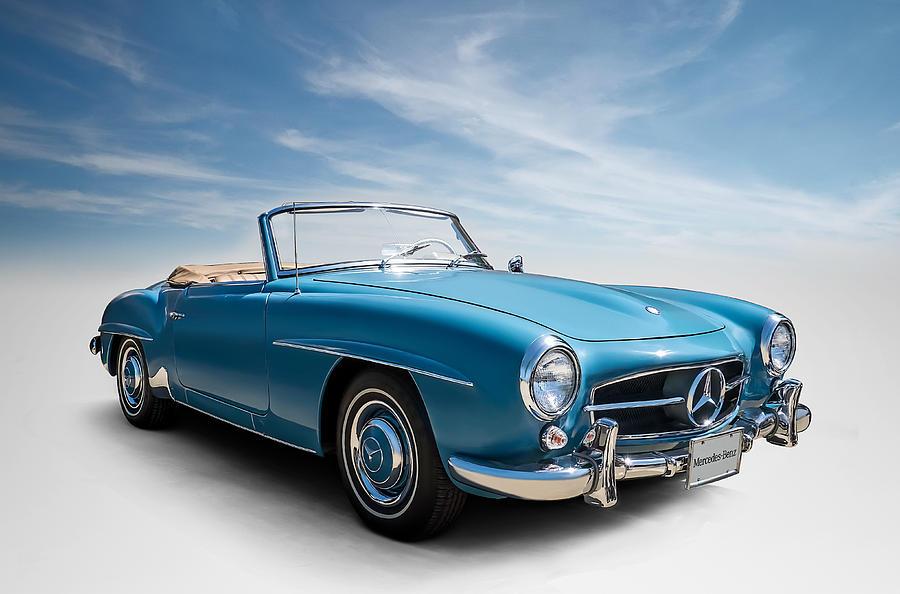 Mercedes Digital Art - Class Of 59 by Douglas Pittman