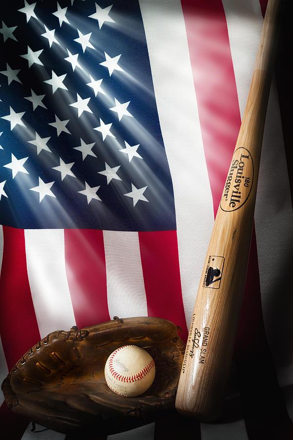 Baseball Photograph - Classic Americana by Bill Wakeley
