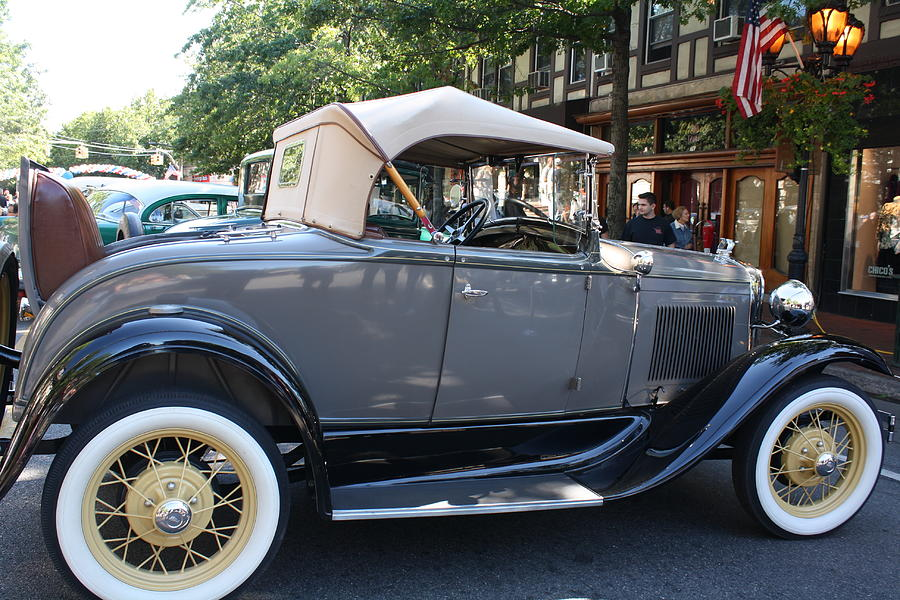 Playing Photograph - Classic Antique Car - Ford 1920s by Dora Sofia Caputo Photographic Design and Fine Art
