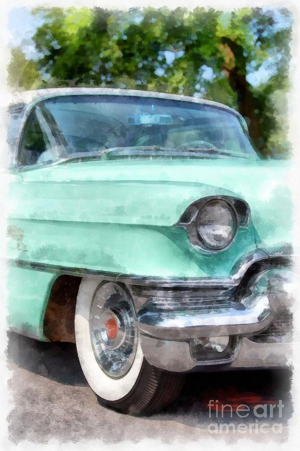 Cadillac Photograph - Classic Caddy by Edward Fielding