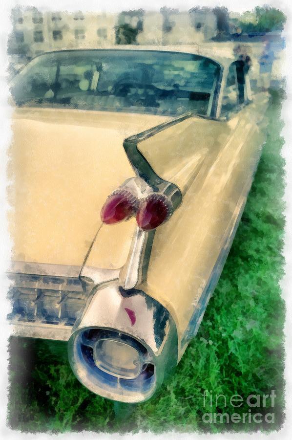 Caddy Photograph - Classic Caddy Fins by Edward Fielding