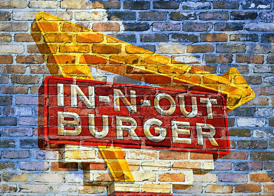 50s Photograph - Classic Cali Burger 2.1 by Stephen Stookey