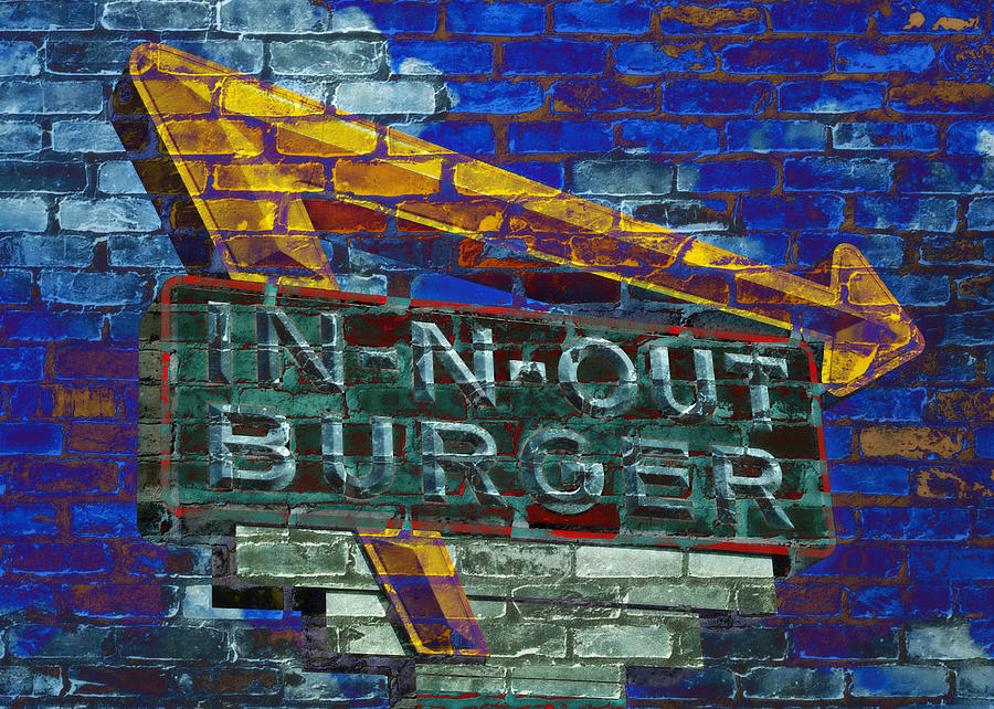 50s Photograph - Classic Cali Burger 2.2 by Stephen Stookey