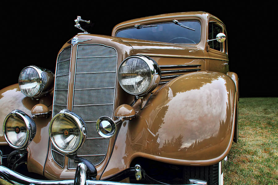 Classic Cars Photograph - Classic Car - 1935 Buick Victoria by Peggy Collins