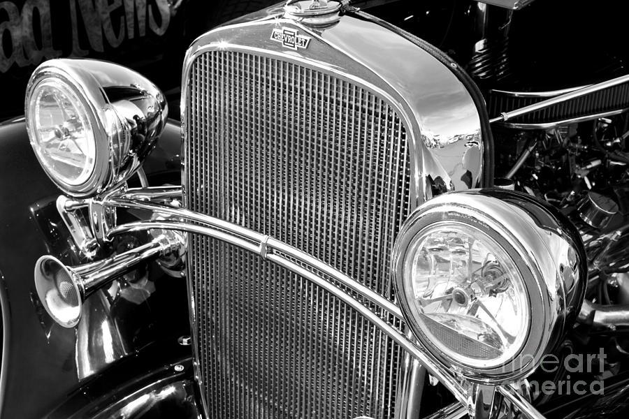 Antique Automobile Headlamps : Classic car headlights photograph by mariusz blach
