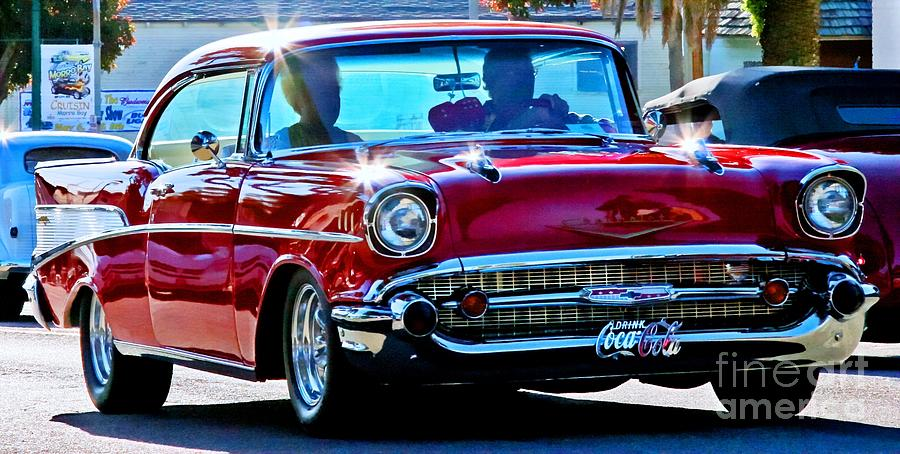 Cars Photograph - Classic Chevrolet by Tap On Photo
