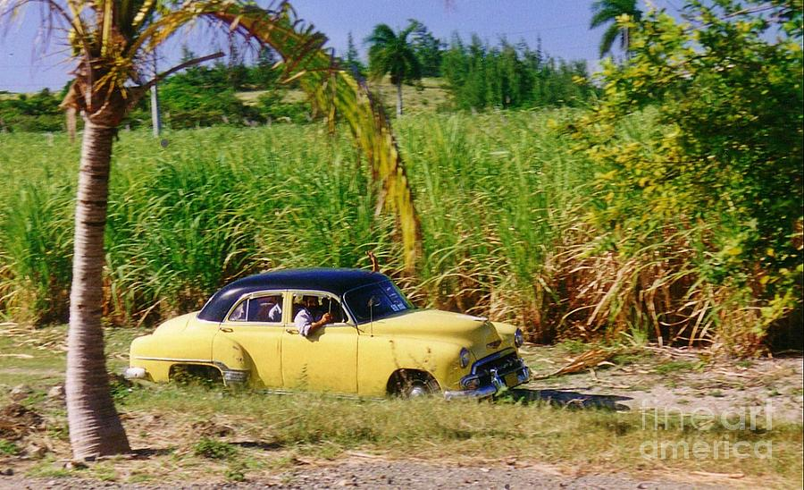Old Cars Photograph - Classic Cuba by Halifax Photographer John Malone
