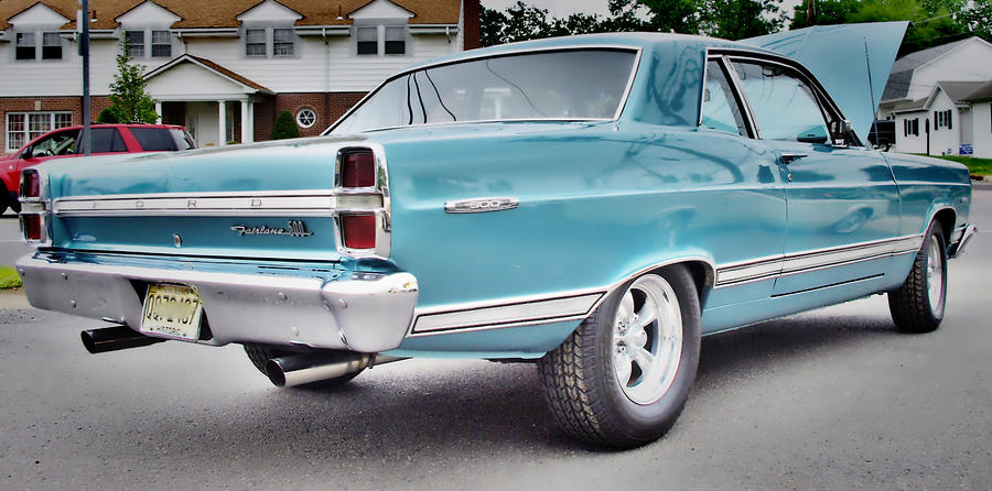 Ford Fairlane Photograph - Classic Ford Fairlane by Thomas  MacPherson Jr