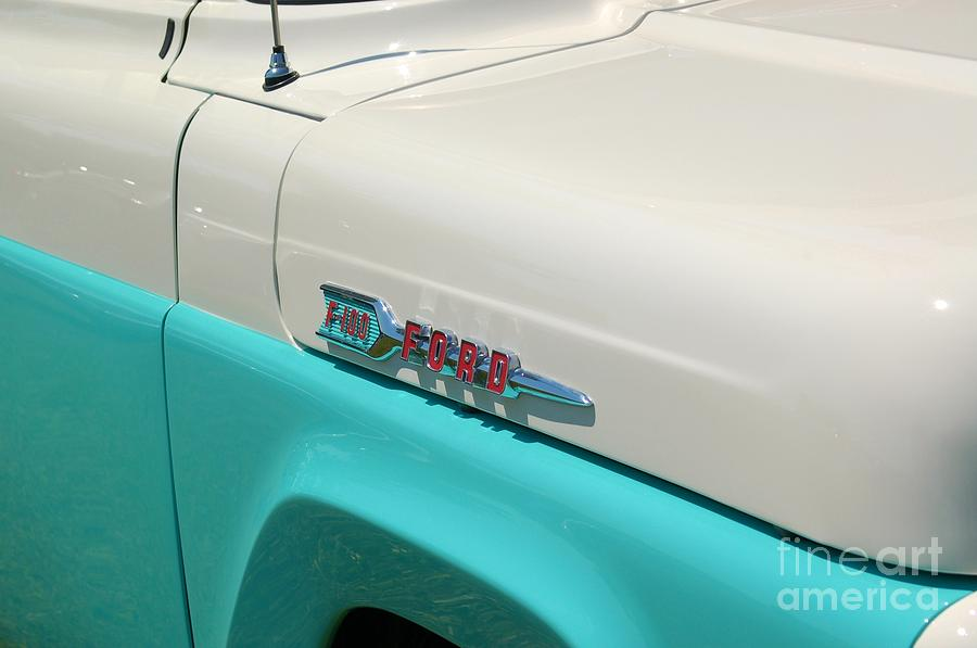 Ford F100 Photograph - Classic Ford by Patrick Shupert