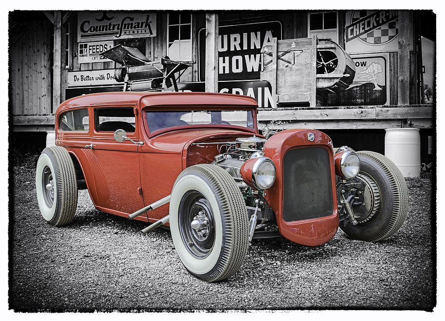 Classic Hot Rod Photograph - Classic Hot Rod by Thomas Young