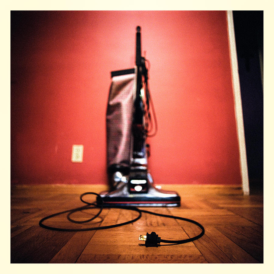 Dirty Photograph - Classic Kirby Vacuum by Yo Pedro