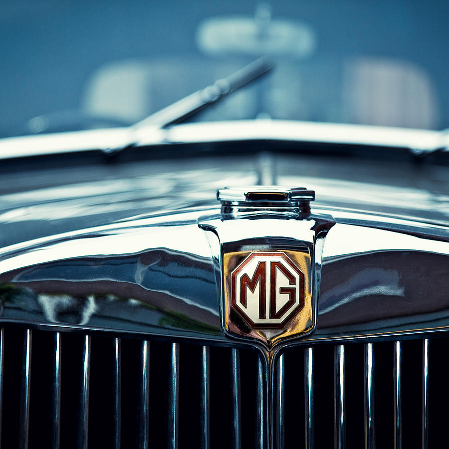 Classic Cars Photograph - Classic Marque by Dave Bowman