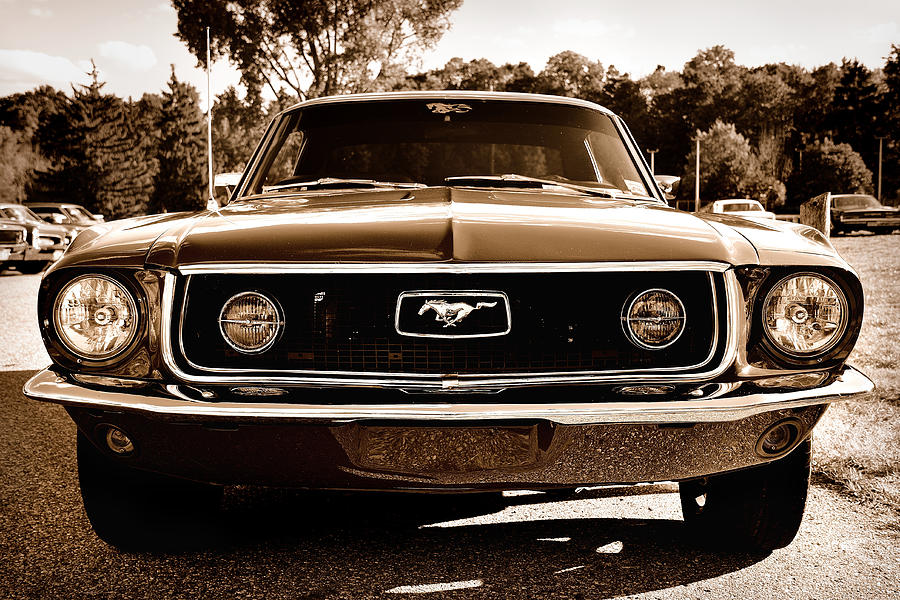 Classic Mustang by Dylan Lees