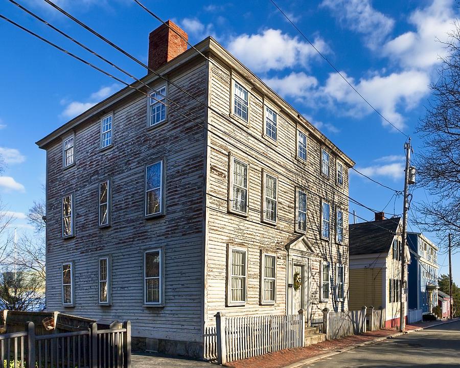 Salem Photograph - Classic New England Architecture by Mark E Tisdale