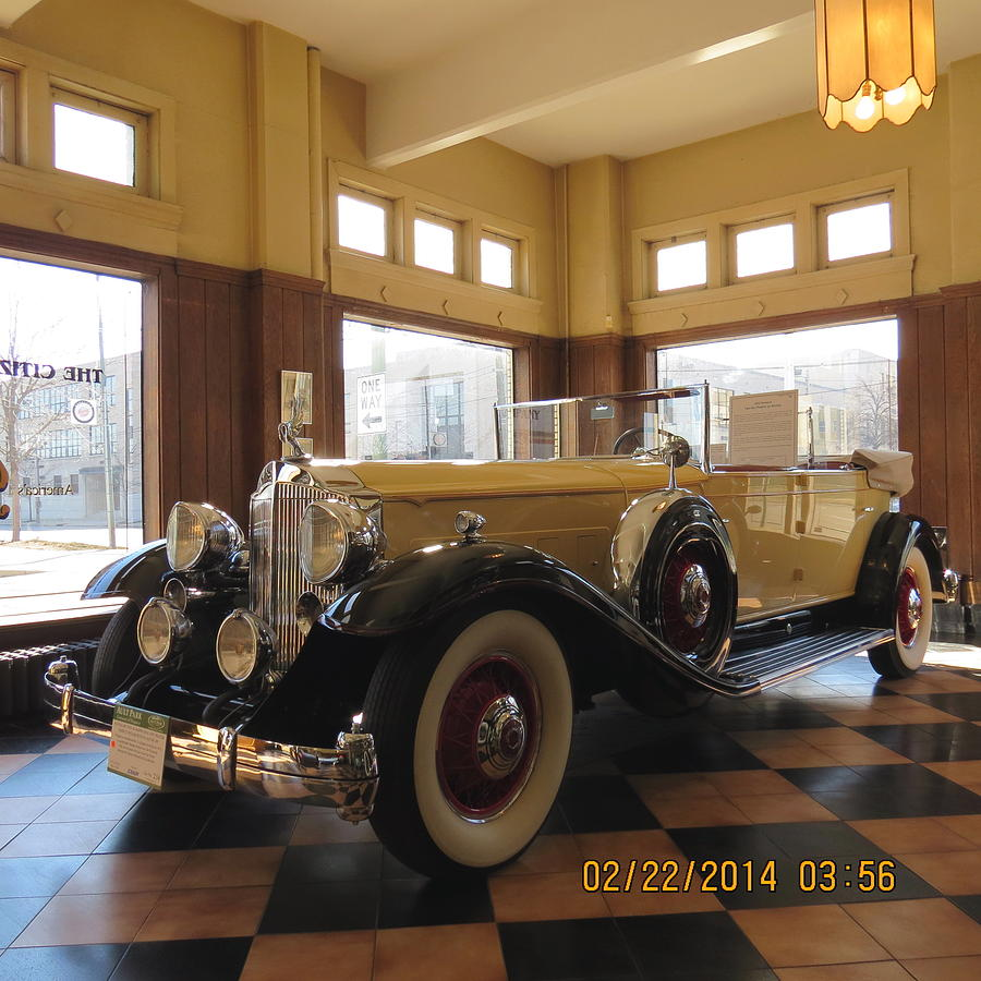 Classic Packard in Showroom by Eric Switzer