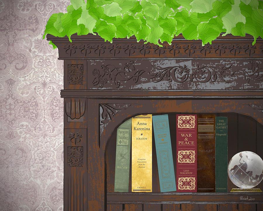 Classic Reads Digital Art by Patti Parish