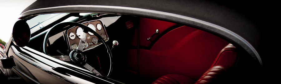 Auto Photograph - Classic Style by Steven Milner
