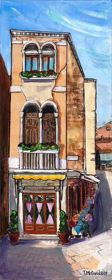 Contemporary Painting - Classic Venice by TM Gand