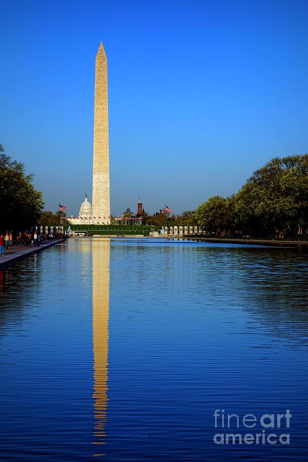 D.c. Photograph - Classic Washington by Olivier Le Queinec