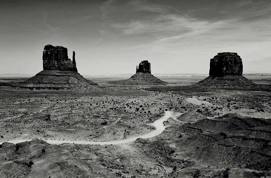 Monument Valley Photograph - Classic West by Benjamin Yeager