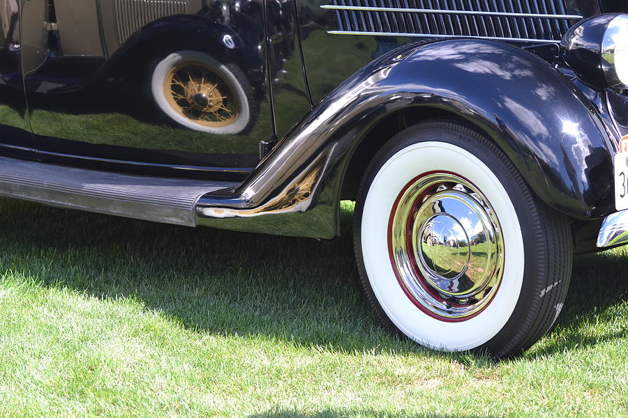 Car Photograph - Classic Wheels by Bill Mock