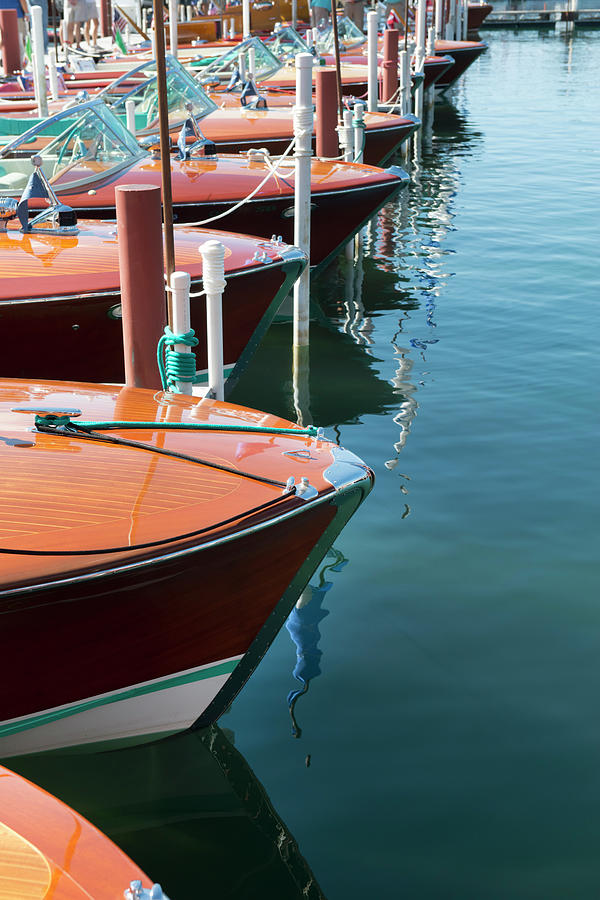 Classic Wooden Boats Photograph by Jenniferphotographyimaging