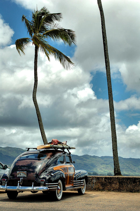Hawaii Photograph - Classic Woody by DH Visions Photography