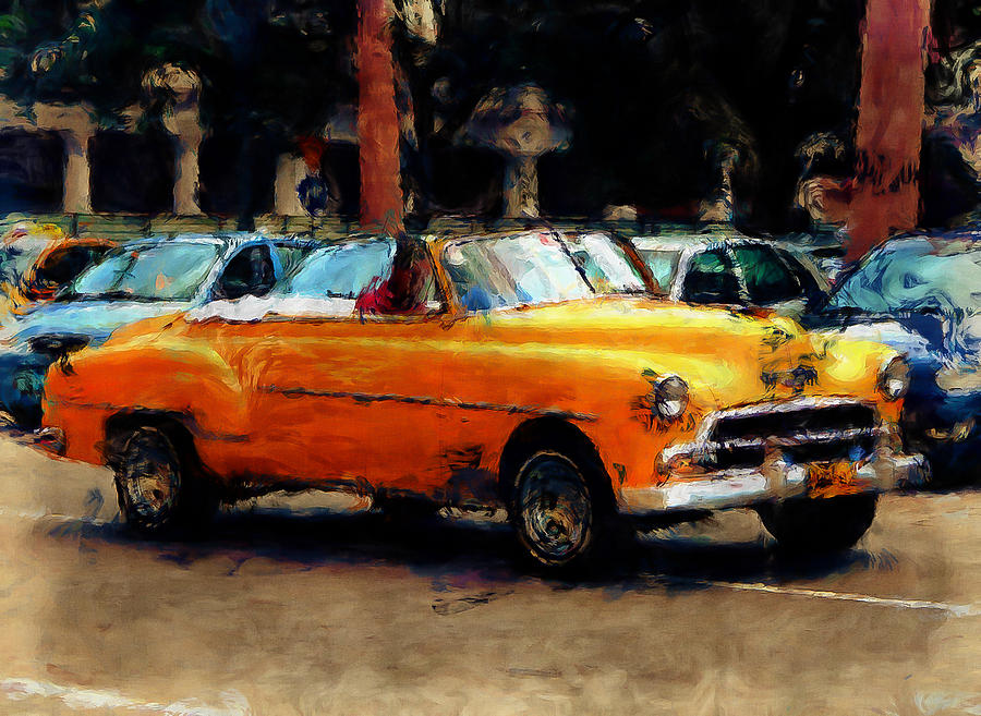 Classic Photograph - Classic Yellow Havana by Fran Hogan
