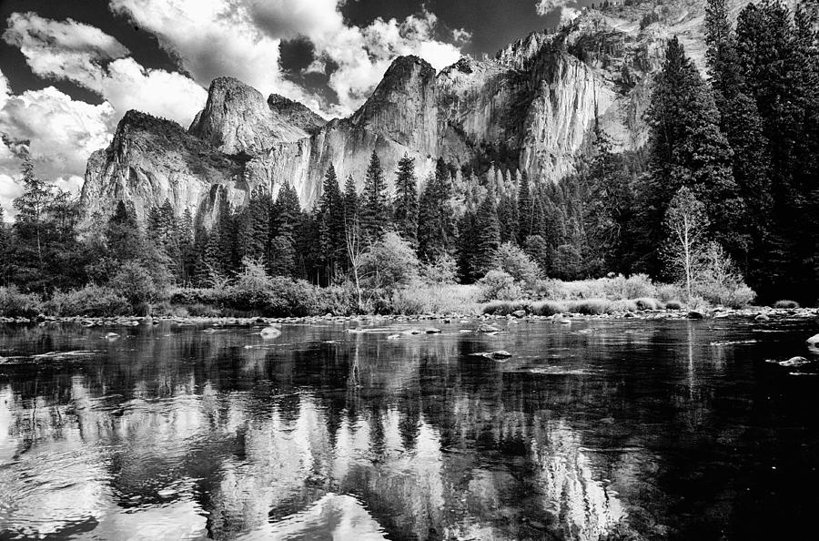 Clouds Photograph - Classic Yosemite by Cat Connor