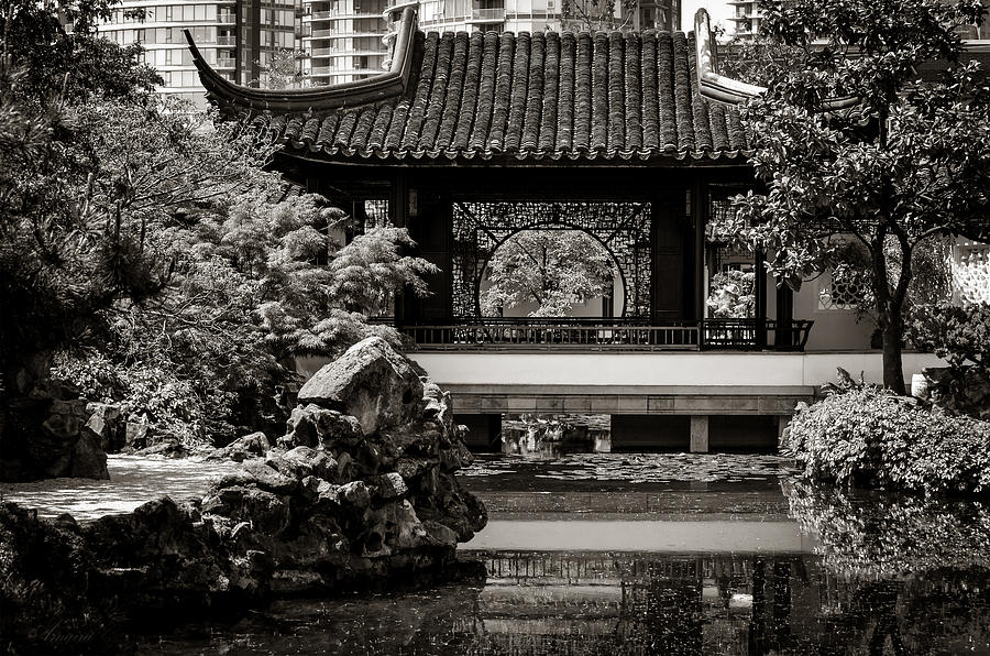 Gardens By Maria: Classical Chinese Garden Il Photograph By Maria Angelica Maira
