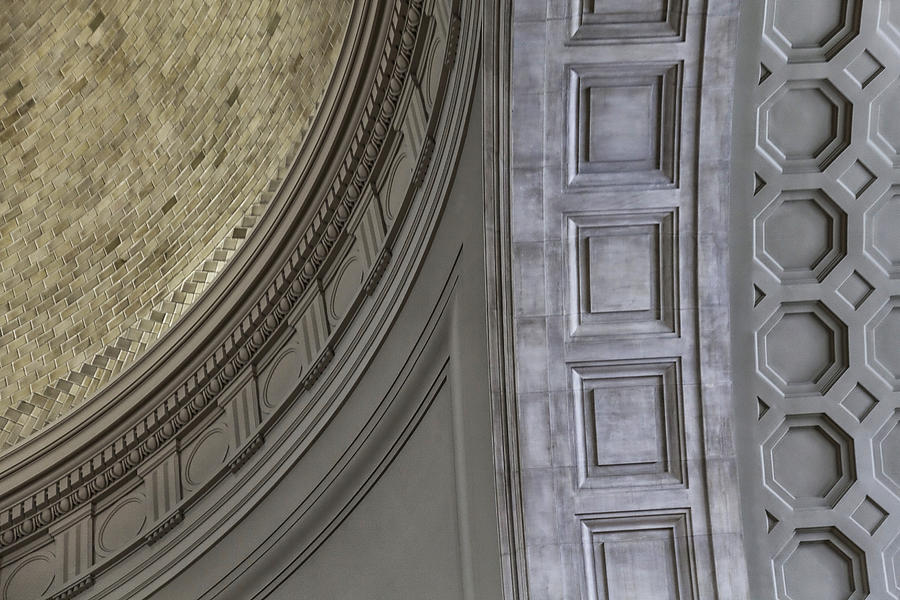 Dome Photograph - Classical Dome And Vault Details by Lynn Palmer