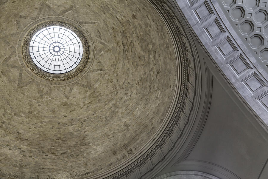 Dome Photograph - Classical Dome With Oculus by Lynn Palmer
