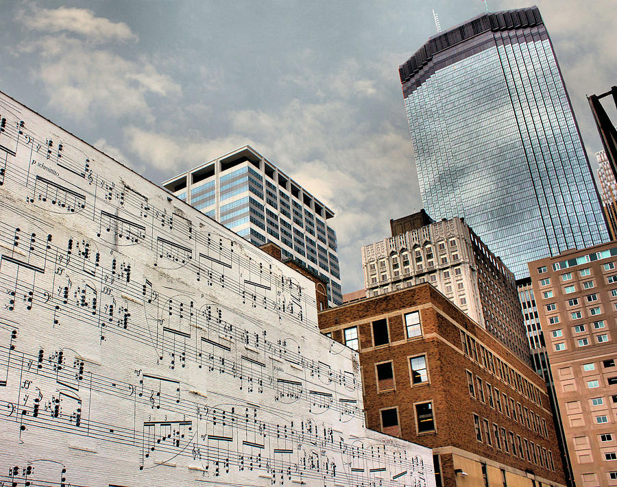 Minneapolis Photograph - Classical Graffiti by Kristin Elmquist