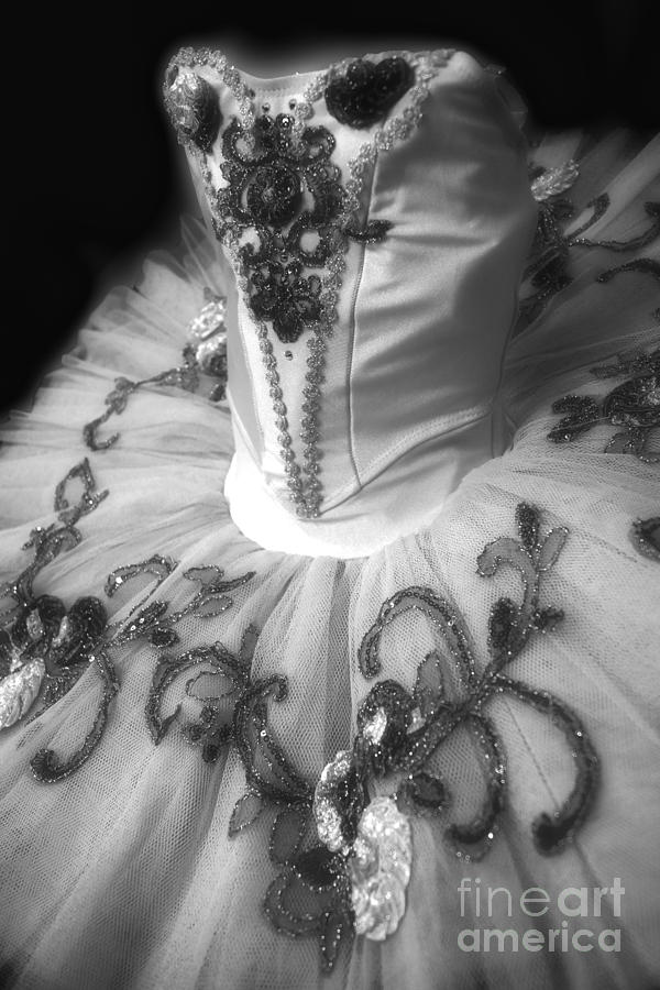 Dance Photograph - Classically Costumed X Monochrome by Cassandra Buckley