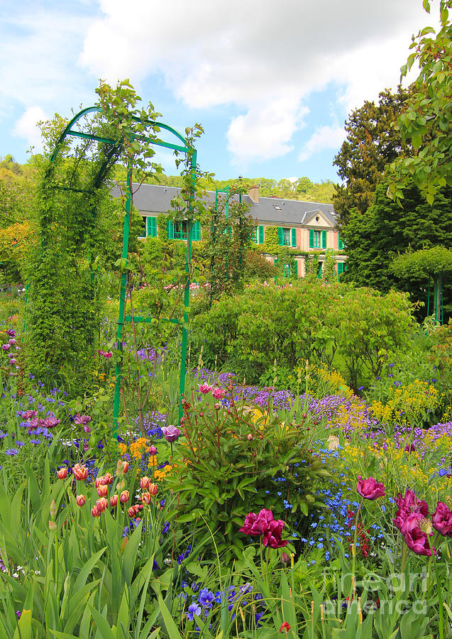 Claude Photograph - Claude Monet House And Garden At Giverny by Heidi Hermes