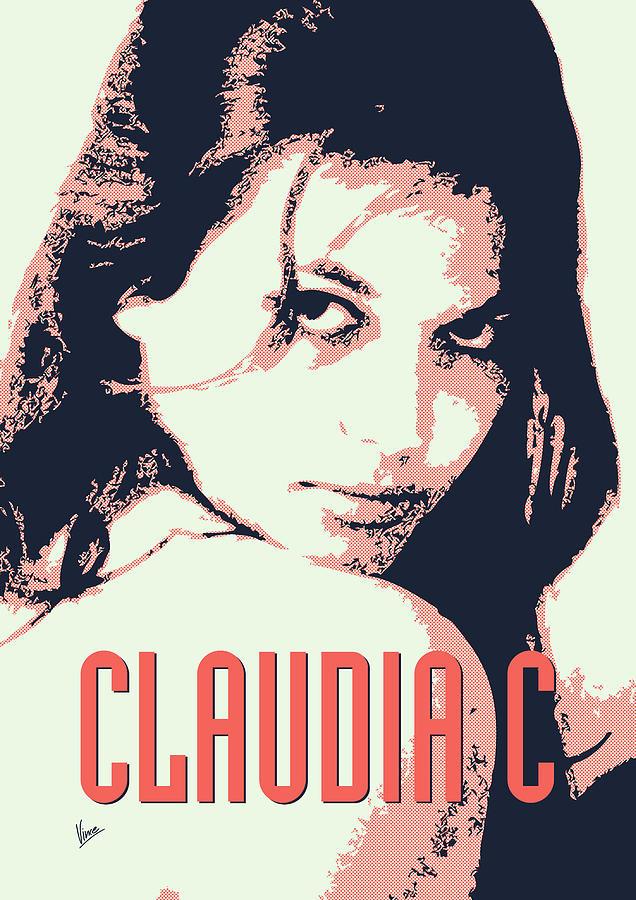 Claudia Digital Art - Claudia C by Chungkong Art